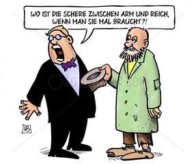 Soziale Schere