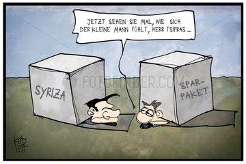 Tsipras unter Druck