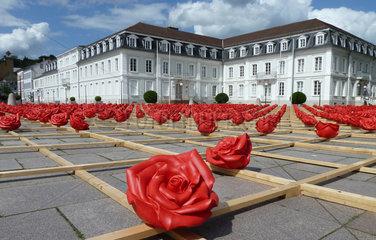 Zweibruecken  Deutschland  1000 Rosen fuer Zweibruecken von Ottmar Hoerl und Amtsgericht Zweibruecken