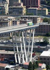ITALY-GENOA-BRIDGE COLLAPSE