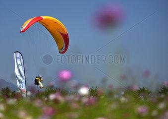 #CHINA-ZHEJIANG-WUYI-FLYING CAMP (CN)