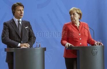 Conte + Merkel