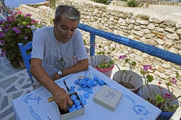 Griechenland  Karpathos-Kuestendorf Messochori