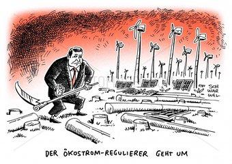 Neuausrichtung der Energiepolitik : Wirtschaftsminister Gabriel