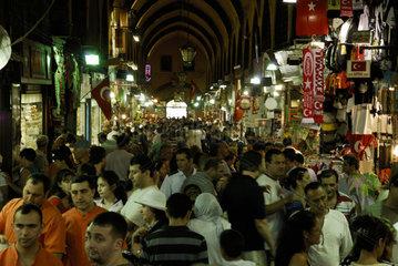 Istanbul - Basar und Gewuerzmarkt - Tuerkei