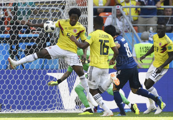 (SP)RUSSIA-SARANSK-2018 WORLD CUP-GROUP H-COLOMBIA VS JAPAN