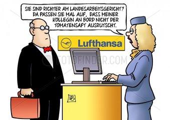 Lufthansa-Verfuegung