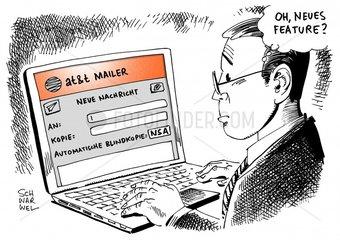 Snowden-Unterlagen : AT&T half breitwillig Geheimdienst NSA beim Ausspaehen
