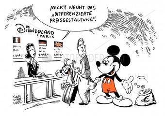 Disneyland Paris : EU-Kommission ueberprueft Vergnuegungspark