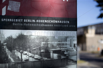 Gedenkstaette Hohenschoenhausen  Berlin