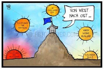 EU-Sondertreffen zur Fluechtlingskrise