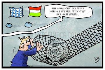 Orban bei der CSU