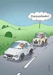 Trabbi und Volkswagen