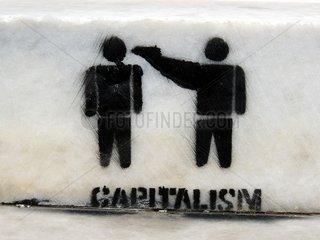 Street Art Kapitalismus Capitalism