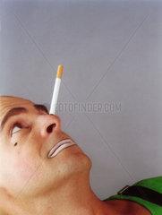 Balancieren - Zigarette