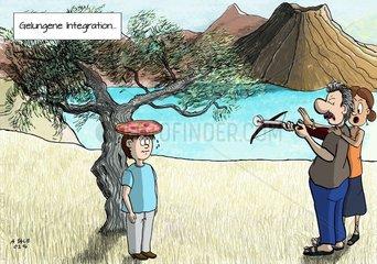 Gelungene Integration
