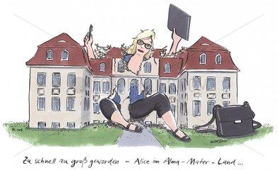 Alice Wunderland Universitaet