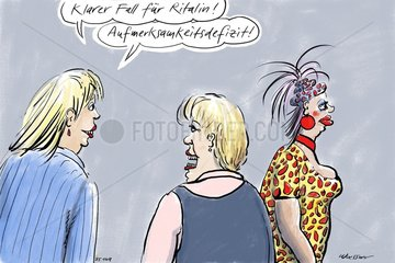 Frauenklatsch laestern