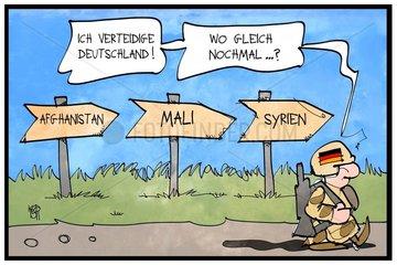 Die Bundeswehr im Ausland