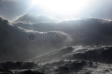 Krippenbrunn  Oesterreich  Blick vom Krippenstein auf die Alpen