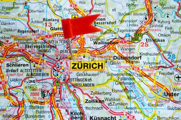 Berlin  Deutschland  das Reiseziel ist Zuerich