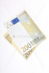 Berlin  Deutschland  ein 200-Euroschein