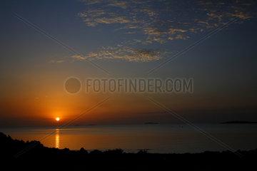 Point Samson  Australien  Sonnenaufgang