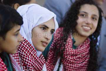 Maedchenschule in Jordanien