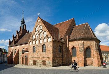 Luckenwalde  Deutschland  die St.Johanniskirche in Luckenwalde