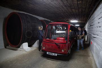 Republik Moldau  Weinkellerei Cricova SA
