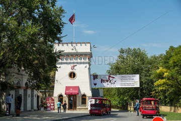 Republik Moldau  Rezeption  Weinkellerei Cricova SA