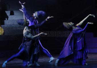 LEBANON-BEIRUT-CARACALLA DANCE THEATER-PERFORMANCE