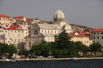 Kroatien  Nord-Dalmatien  Kathedrale des Heiligen Jakob in Sibenik
