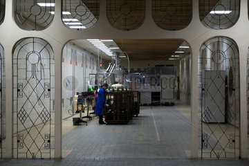 Republik Moldau  Abfuellanlage Weinkellerei Cricova SA