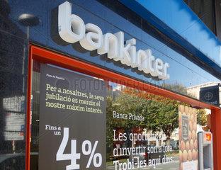 Barcelona  Spanien  Filiale der bankinter Bank