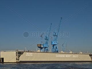Dock 2 der Cassens-Werft  Deutschland