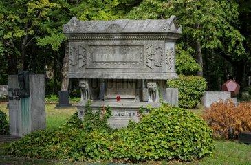Semmelweis Grab im Ungarischen National Friedhof Kerepesi