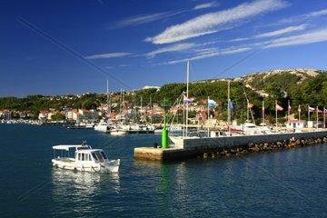 Kroatien  Kvarner  Insel Rab  ACI-Marina Rab