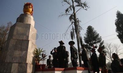 NEPAL-KATHMANDU-MARTYRS' DAY