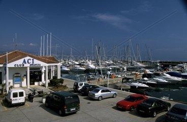 Kroatien  Istrien  ACI-Marina in Opatija