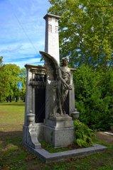 Engel Grabfigur im Ungarischen National Friedhof Kerepesi