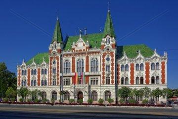 Rathaus von Ujpest dem 4 Budapester Stadtbezirks