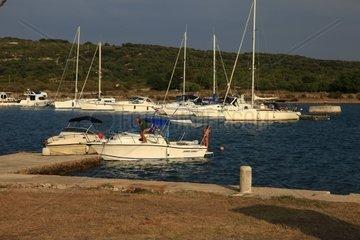 Kroatien  Kvarner  Insel Cres  Marina Osor