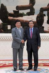 CAMBODIA-PHNOM PENH-LAOS-PM-VISIT