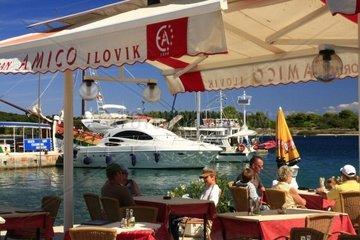 Kroatien  Kvarner  Insel Ilovik  Restoran Amico Ilovik