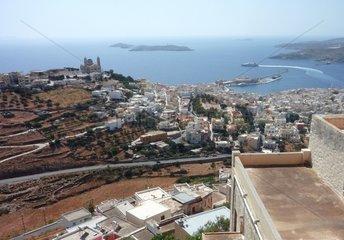 Serie Griechenland Insel Syros Ermoupolis