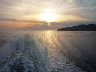Serie Griechenland Abend _g_is Insel Kea