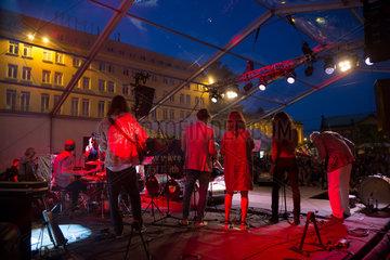 Poznan  Polen  Konzert beim Malta Festival Poznan