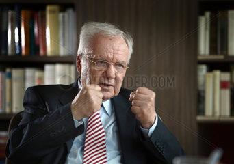 Potsdam  Deutschland  Manfred Stolpe  SPD  ehemaliger Ministerpraesident des Landes Brandenburg