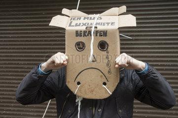 Protest gegen Luxusmiete